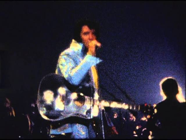 Elvis Presley That's All Right New Madison Square Garden Footage 72