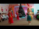 Танец под песню из индийского фильма в средней группе детского сада, Новый год.