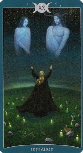 "Таро Книга Теней том 1 ""Как Наверху"" (The Book of Shadows Tarot (Volume 1 As Above) - Страница 2 XUWHYAvuWSo"