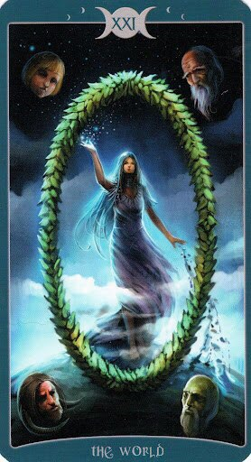 "Таро Книга Теней том 1 ""Как Наверху"" (The Book of Shadows Tarot (Volume 1 As Above) K_2WDmtmh70"