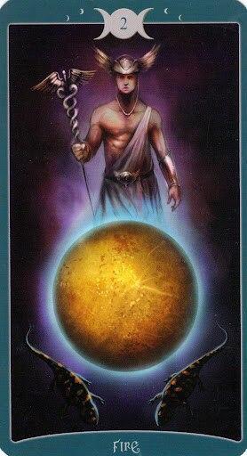 "Таро Книга Теней том 1 ""Как Наверху"" (The Book of Shadows Tarot (Volume 1 As Above) - Страница 2 XFMcAvZzdAE"
