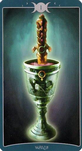 "Таро Книга Теней том 1 ""Как Наверху"" (The Book of Shadows Tarot (Volume 1 As Above) PF9xNRtKZWM"