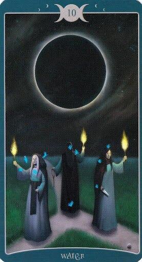 "Таро Книга Теней том 1 ""Как Наверху"" (The Book of Shadows Tarot (Volume 1 As Above) - Страница 3 4hmy2SwKZyY"