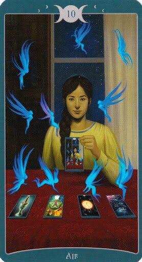 "Таро Книга Теней том 1 ""Как Наверху"" (The Book of Shadows Tarot (Volume 1 As Above) - Страница 4 -P5Rfl4zDm0"