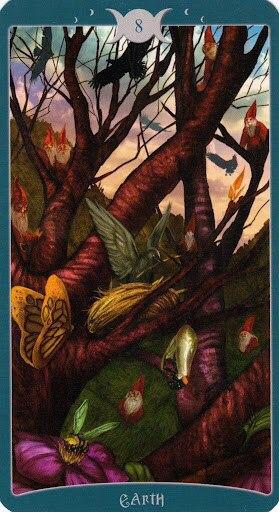 """Таро Книга Теней том 1 """"Как Наверху"""" (The Book of Shadows Tarot (Volume 1 As Above) - Страница 5 VsWg_DYrKSE"""