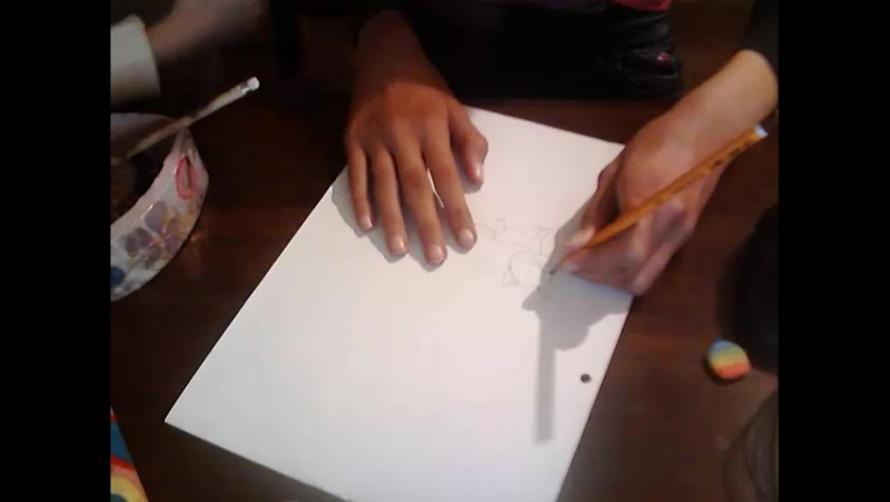 как я рисую кошку стоячку \\лпс 1