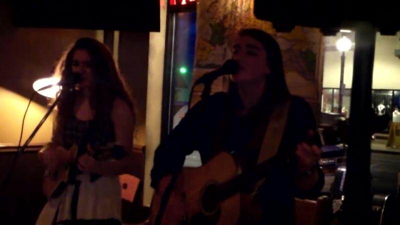 Chloe and Olivia Kimes at the Ludington Pub