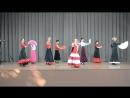 Выступление учеников танец Воларе