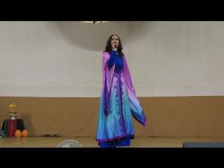 Первый отчетный концерт восточного танца студии