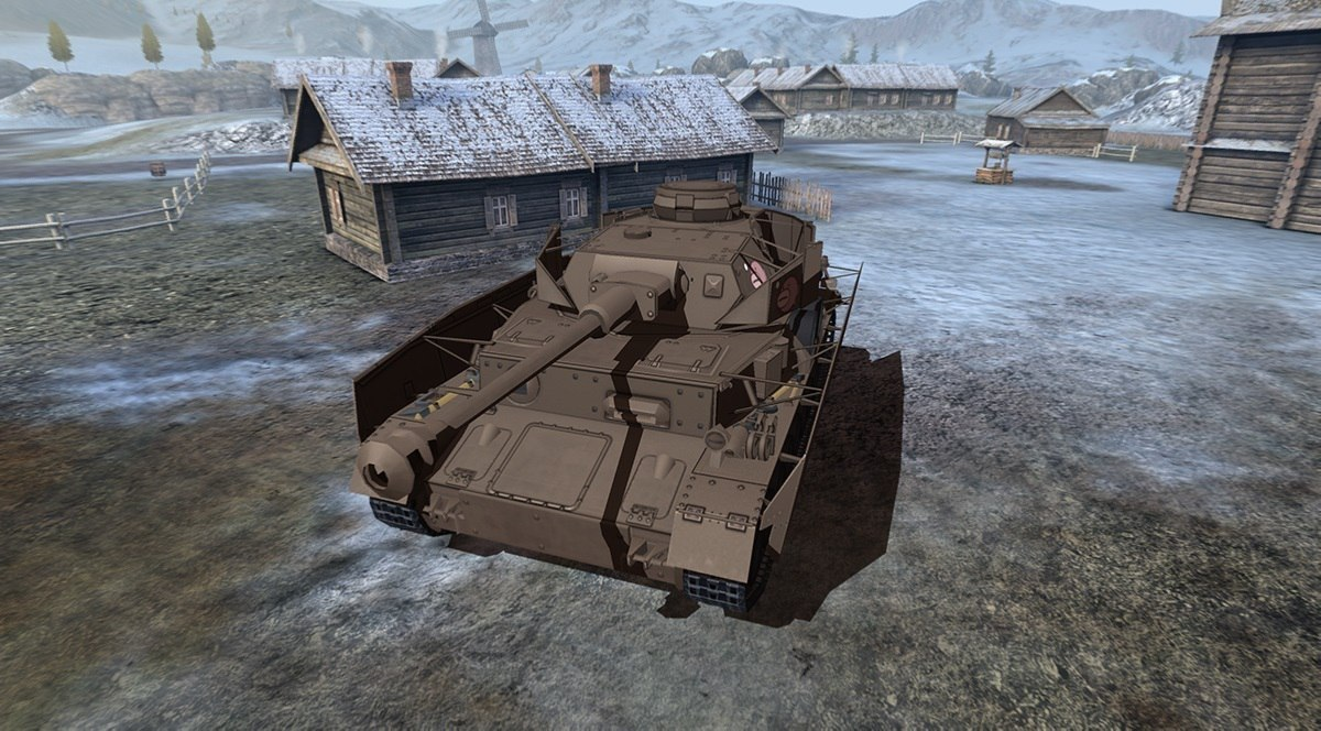 Panzer IV Anko для World of Tanks Blitz