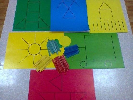 Игры по математике для 3-4 лет своими руками