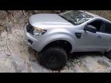 Ford Ranger Ormeau 4x4 track