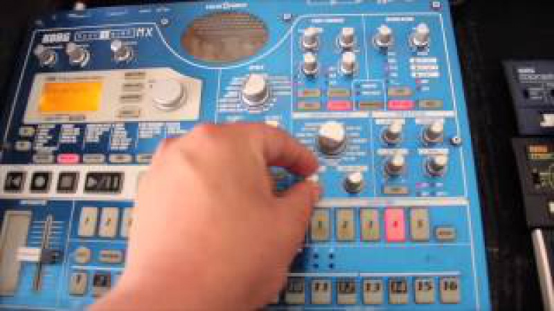 Nevo - MPC 2000 ELECTRIBE EMX1 (amen break oldschool basslines) tutorial en español