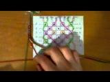Как читать схемы, как делать узлы. Фенечки