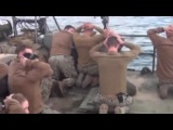 RAW: US sailors surrender to Iranian troops, American soldiers captured in the Persian Gulf