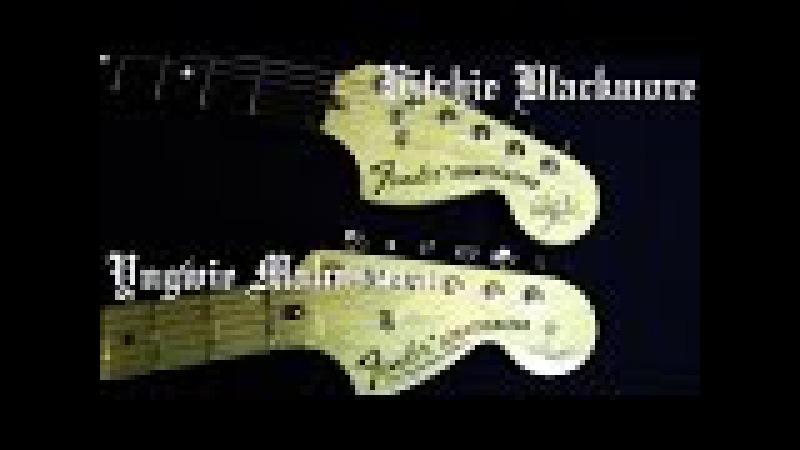 Blackmore Strat VS Malmsteen Strat