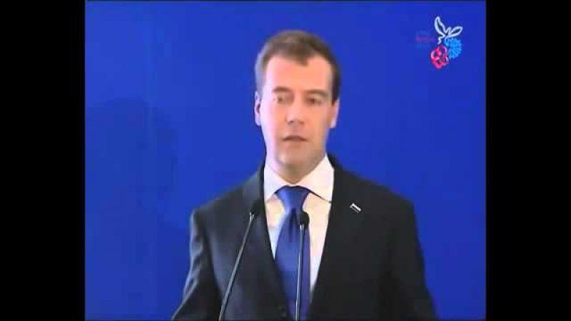 Д. Медведев о форсайт-проекте Детство-2030, представленном на EXPO-2010 в Китае