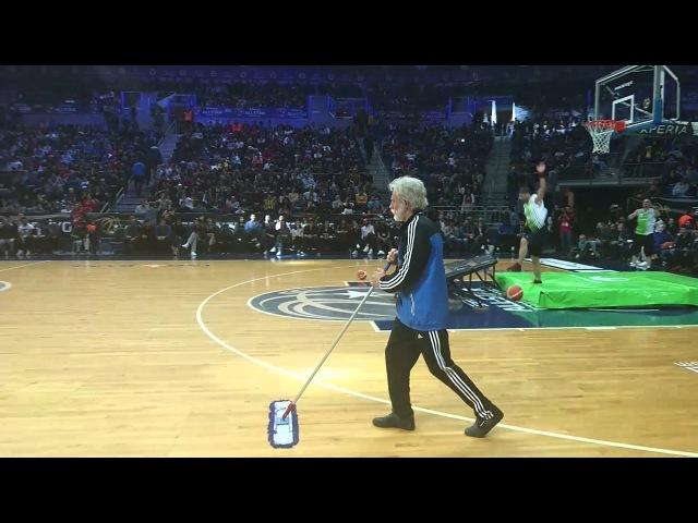 All Star Basket Maçında Şaşırtan Amca