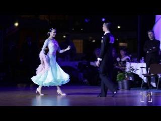 Paolo Campigotto - Petre Alina | DSFO Megeve 2016 | Solo English Waltz
