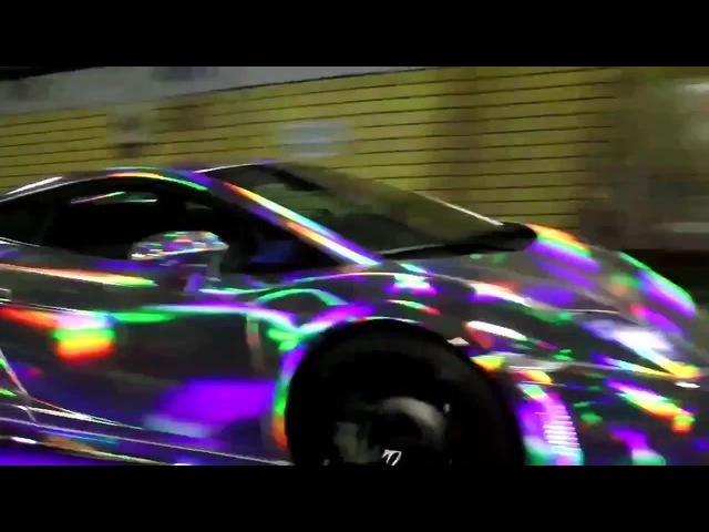 ド派手LEDランボルギーニ軍団 夜間首都高爆走編 Tokyo Midnight Lambo Run- Japan LED Lamborghini Crew- Steve's POV ステ12