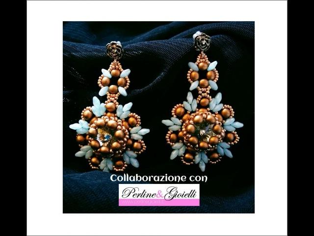 Orecchini Afrodite Collaborazione con Perline Gioielli DIY Afrodite Earrings