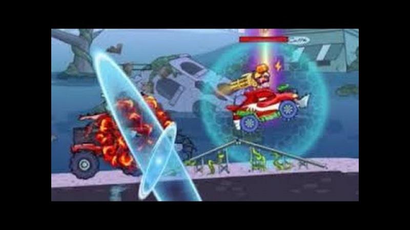 Мультик игра для детей про машинки - МАШИНА ЕСТ МАШИНУ 5 CAR EATS CAR 5 ч.3