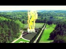 Открытие Солнце улыбается парку в Долине роз в Кисловодском курортном Парке