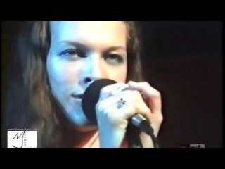 Milla Jovovich Live at Cactus Cafe 1994 ukrainian folk song