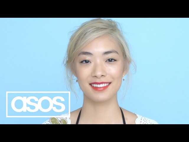 Coral two-tone lips make-up tutorial with Rina Sawayama | ASOS Beauty How-Tos