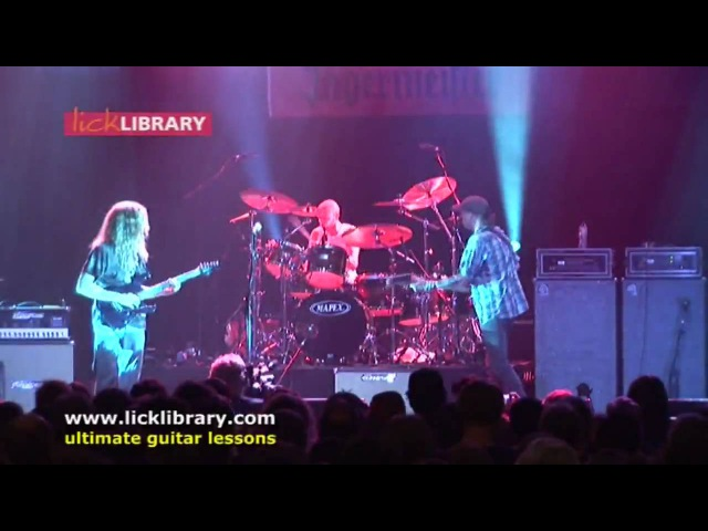 Guthrie Govan - Billy Sheehan - Stratus - Licklibrary LIMS 2008