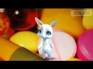 [v-s.mobi]Zoobe Зайка - Ой, что-то мне плохо, плохо, заболела наверное....360p
