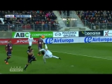 Удар Криштиану Роналду через себя Реал Мадрид Эйбар.