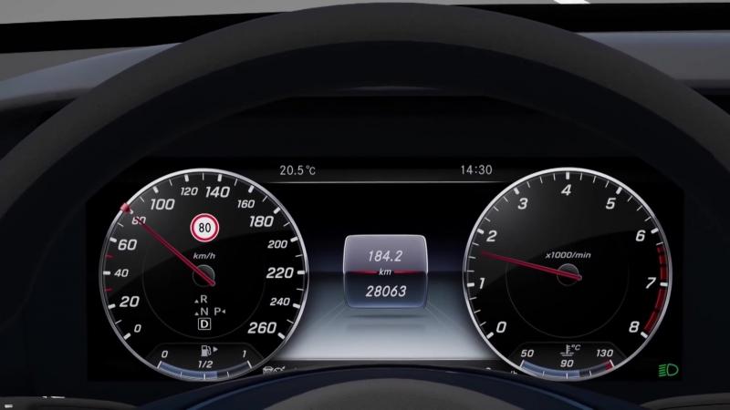 обзор технологии безопасности в новом Mercedes Benz E-Class (W213) 2016