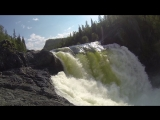 Водопад на р. Урик 2015г