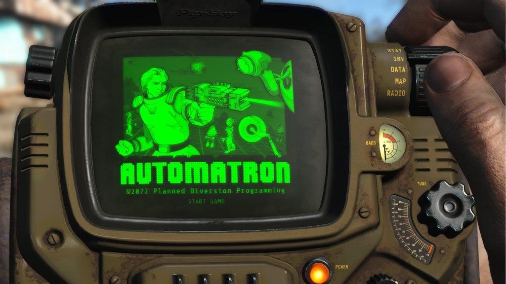 Уже завтра состоится выход первого DLC Automatron