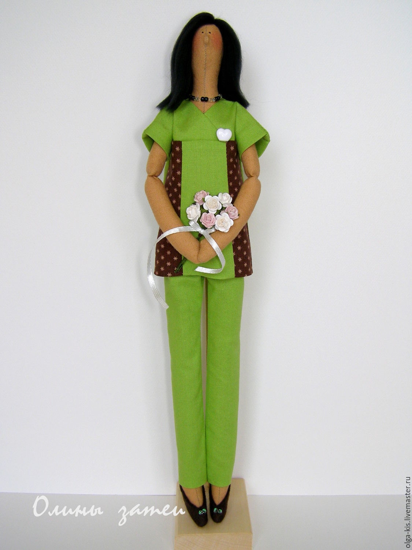 кукла стоматолог