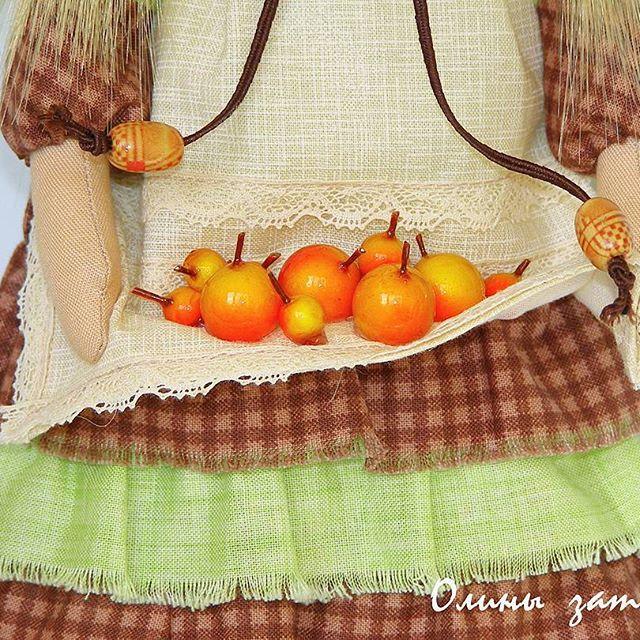 тильда с яблоками