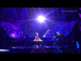 Aliona Moon - O Mie (Moldova) 1st rehearsal and backstage