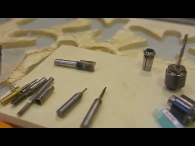 Обзор фрез для чпу к шпинделю kress