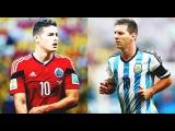 James Rodriguez and Leo Messi Similar Panenka Goals Хамес Родригес и Лео Месси Похожие Голы