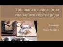 Исцеление сценариев Рода. 3 Шага. Ольга Валяева