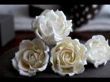 How to Make a Sugar Rose A McGreevy Cakes Tutorial