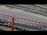 Падение Валентино Росси в гонке MotoGP Гран-При Америк