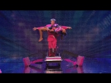 Шайтан на шоу британских талантов - Stevie Pink master illusionist takes to the