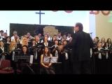 08.05.16 - Международный христианский джаз. хор - церковь Преображение, Киев