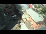 Пожар в Кучино ТД Кронос Алди 17.07.2016