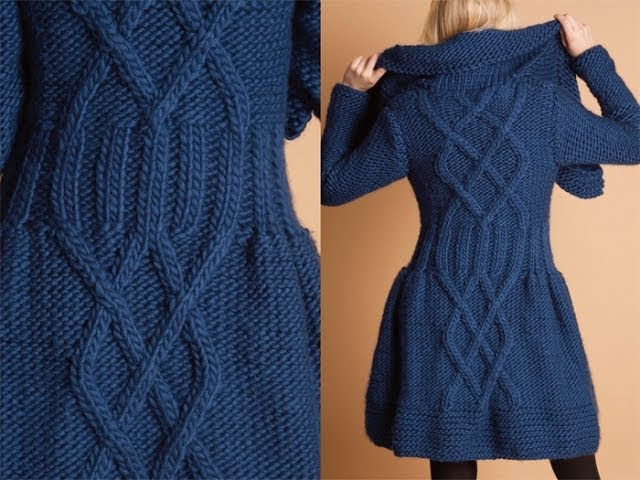 26 Twinkle Coat Dress, Vogue Knitting Winter 2010/11
