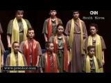 Хор Преображение- Концерт в Сеуле (  ТV CNN Korea)