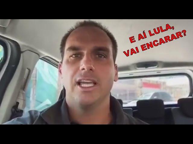 Eduardo Bolsonaro responde as provocações de LULA e faz DESAFIO. As regalias de DILMA.