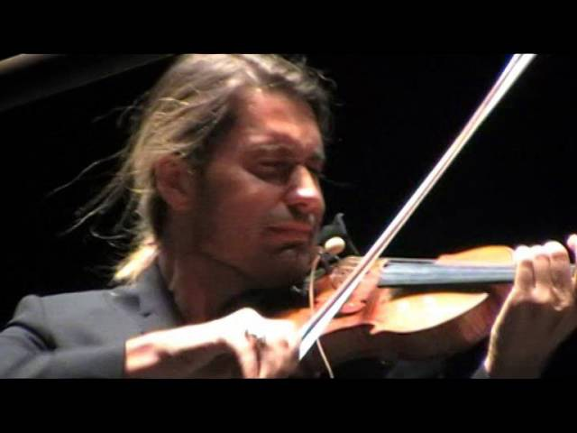 David Garrett Tchaikovsky Violin Concerto in D major op 35 3 Roma 21 07 2016